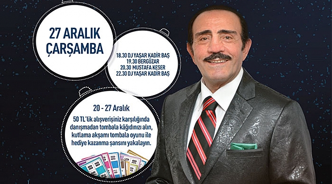 Çanakkale'de Mustafa Keser'li yeniyıl partisi!
