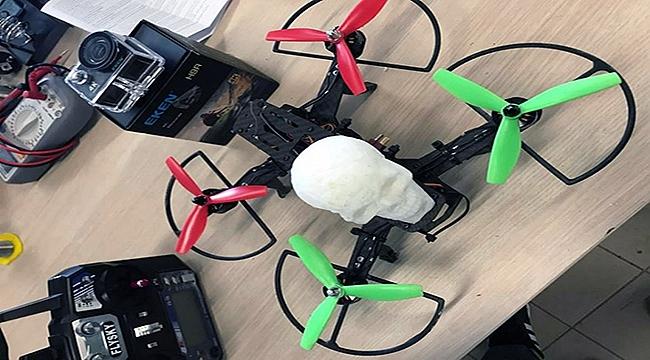 Çanakkaleli öğrenciler insansız hava aracı yaptı