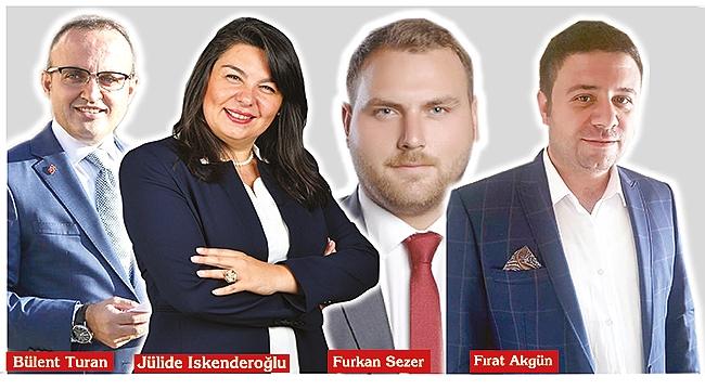 Ak Parti listesinde tecrübeli ve genç isimler!