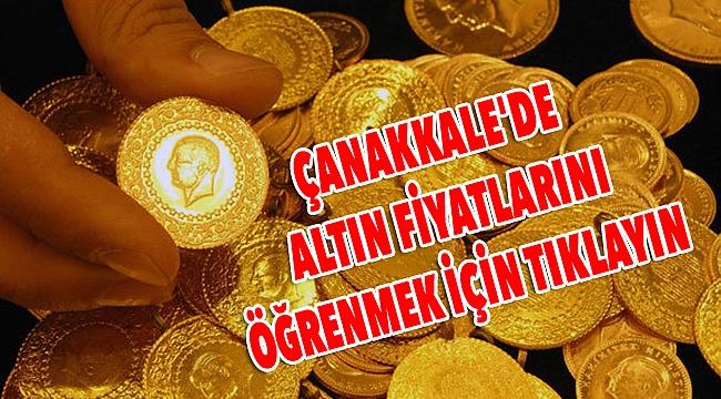 Altının gramı 200 lirayı geçti! Çanakkale'de çeyrek altın kaç lira oldu?