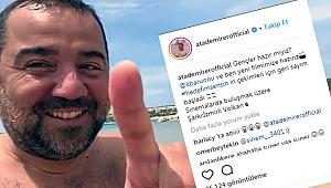 Ata Demirer yeni film müjdesini Bozcaada'dan verdi!