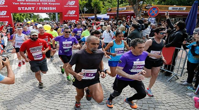 Bozcaada, New Balance Yarı Maratonu ve 10K Koşusu ile yaza merhaba dedi