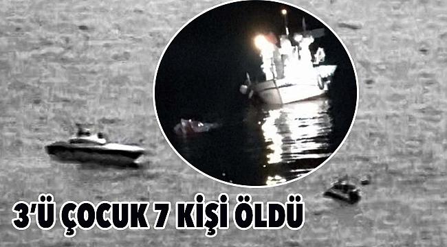 Çanakkale'de 7 kişinin öldüğü deniz faciası için Sahil Güvenlik'ten açıklama!