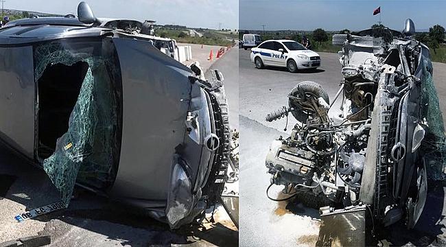 Çanakkale'de feci kaza!..