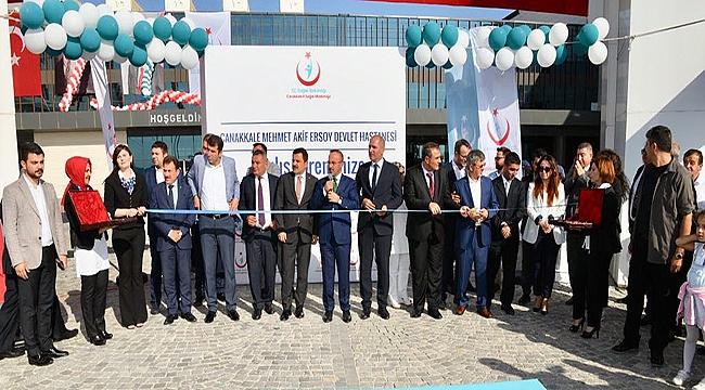 Çanakkale Devlet Hastanesi resmi açılış töreni gerçekleşti