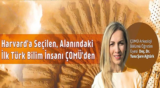 Harvard'a Seçilen, Alanındaki İlk Türk Bilim İnsanı Çanakkale Üniversitesinden