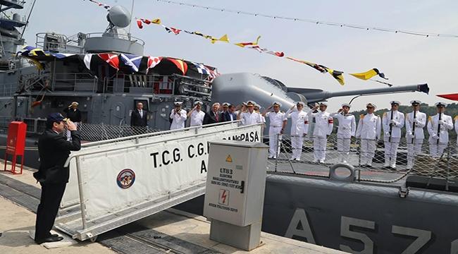 TCG Cezayirli Gazi Hasan Paşa Gemisine Ziyaret