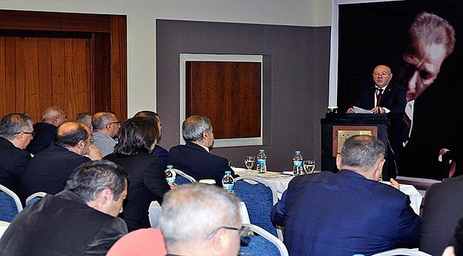 Türkiye Gazeteciler Konfederasyonu Başkanlar Kurulu Çanakkale'de Toplandı
