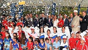 Çanakkale'de, Türkiye'nin En Büyük Gençlik ve Sporcu Kamp Eğitim Merkezi'nin Temeli Atıldı