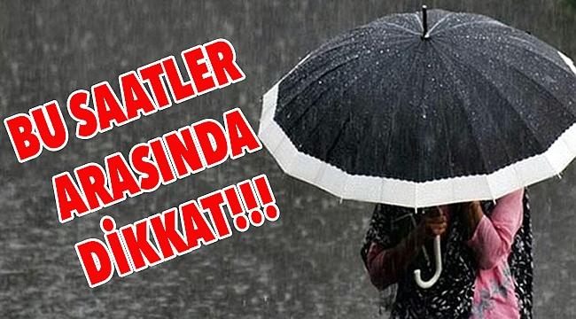 Meteorolojiden Çanakkale'ye kuvvetli yağış uyarısı!