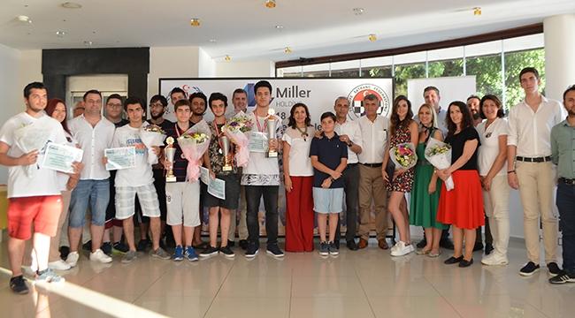 Çanakkale yapılan turnuvada, Türkiye Şampiyonu Deniz Özen Oldu