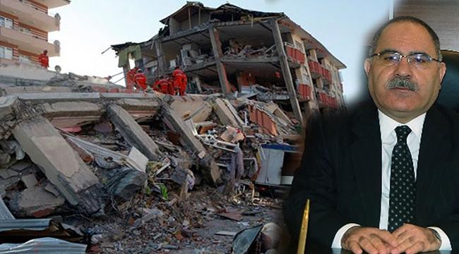 """Çanakkale Çevre ve Şehircilik İl Müdürü Bolat; """"Deprem öldürmez, depreme karşı dayanıksız binalar öldürür"""""""