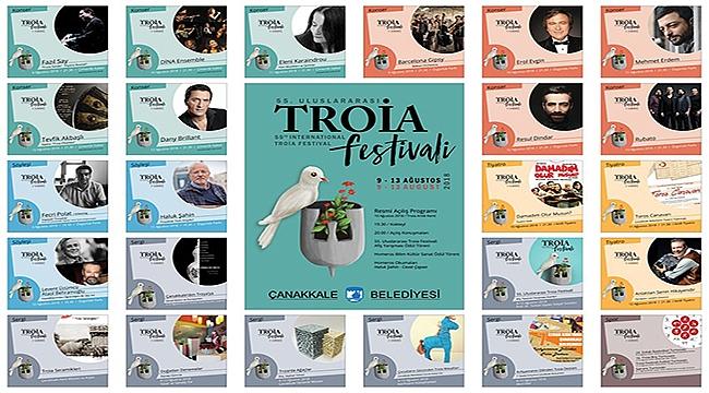 Çanakkale'de 55. Uluslararası Troia Festivali Başlıyor! Festival Programını Öğrenmek İçin Tıklayın