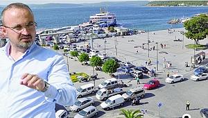 Milletvekili Turan'dan Çanakkale'yi rahatlatacak öneri!