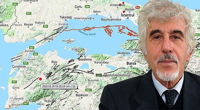 Perinçek'ten deprem açıklaması! Marmara'dan önce Çanakkale'ye dikkat çekti