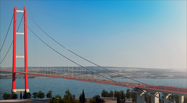 1915 Çanakkale Köprüsü için acele kamulaştırma kararı