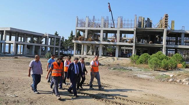 Çanakkale'de yükseliyor... Tamamlandığında Türkiye'nin en büyüğü olacak