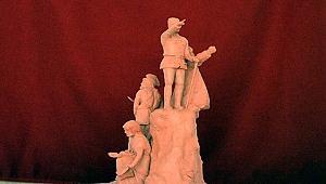 İskele Meydanına Çanakkale'nin Kahramanları Heykeli!