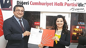 Bülent Öz, belediye başkanlığı aday başvurusunu yaptı!