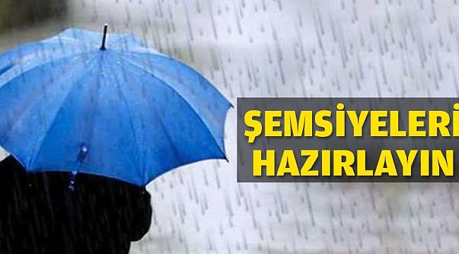 Çanakkale'ye hafta sonu yağmur var!