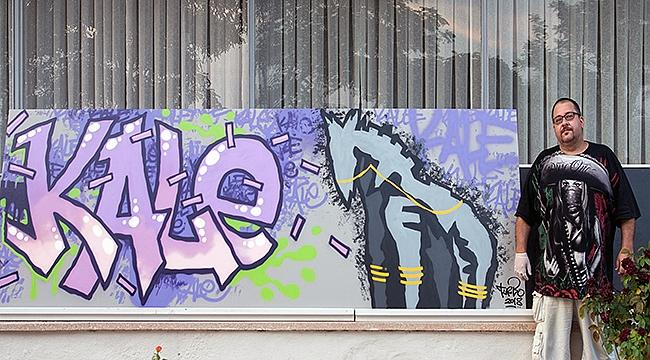 Grafiti kültürü seramiğe taşındı