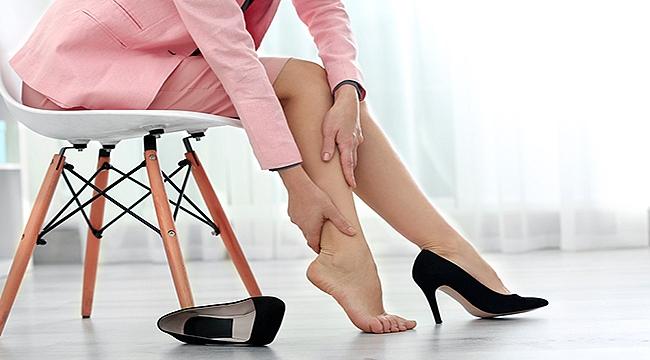 Sürekli ayakta ya da sürekli oturarak çalışıyorsanız dikkat!