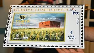 Troya Müzesi temalı pul basıldı