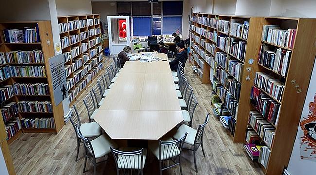 Barbaros Kütüphanesinde çalışma saatleri uzuyor