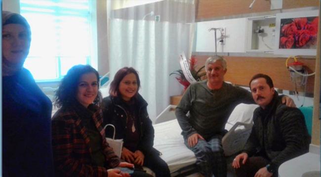 Gestaş'tan duyarlı hareket! Hastanede de ziyaret ettiler
