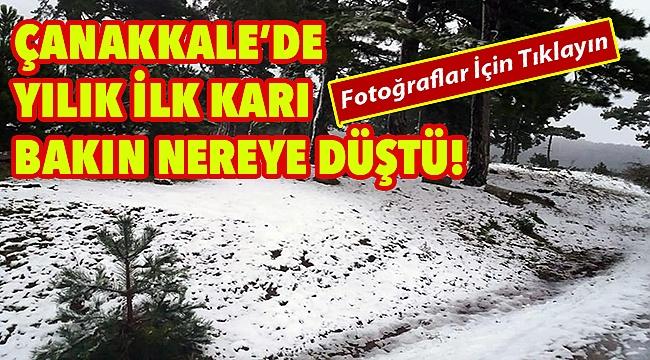 Kar Çanakkale'ye çok yaklaştı!