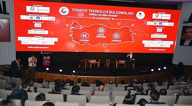 Türkiye Teknoloji Buluşmaları Çanakkale'de gerçekleştirildi