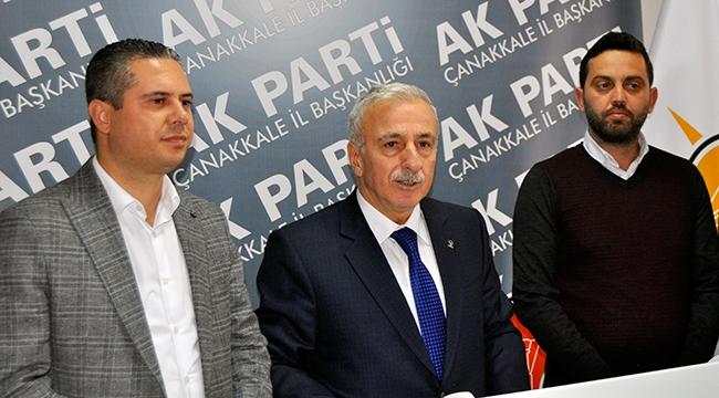 Vali Süleyman Kamçı, Çanakkale Belediye Başkanlığına Talip Oldu