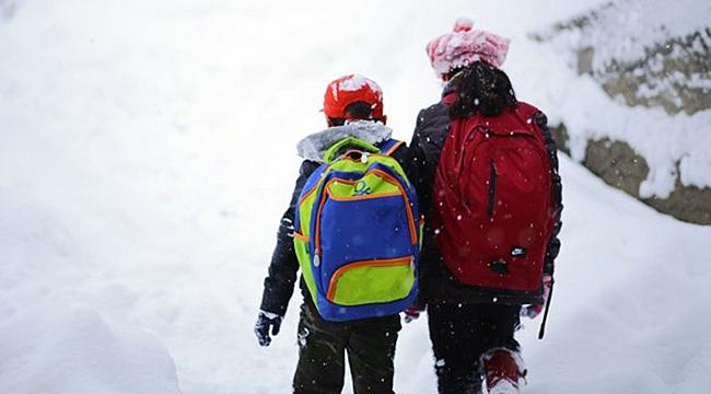 Çanakkale'nin bir ilçesinde daha okullara kar tatili!