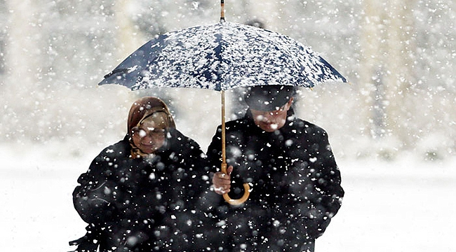 Çanakkale'ye yağmurdan sonra kar geliyor!