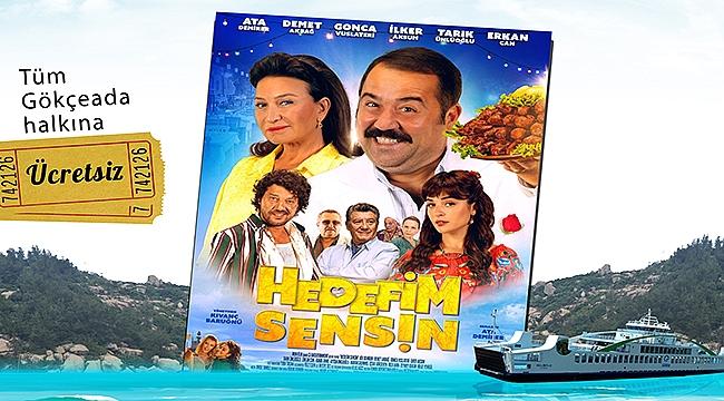 GESTAŞ'tan Gökçeadalılara sinema sürprizi!