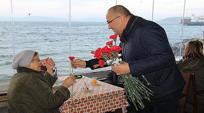 Başkan Adayı Gider'den yılın son saatlerinde anlamlı ziyaretler