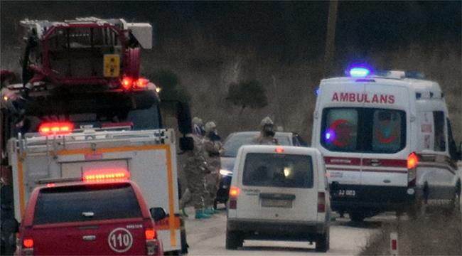 Çanakkale'de soğuk hava deposunda patlama 1 ölü