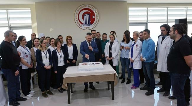 ÇOMÜ Sağlık Uygulama ve Araştırma Hastanesi Başarılı Bir Yıl Geçirdi