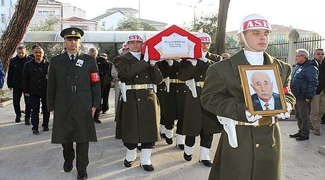 Kore Gazisi Demirtaş son yolculuğuna uğurlandı