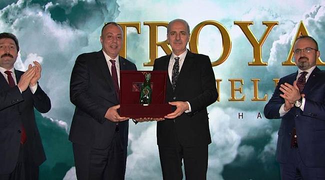 Troya Hazineleri-Asırlık Hasret Belgeseli Çanakkale Galası yapıldı