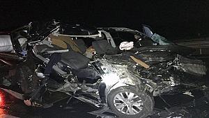Çanakkale'de feci kaza 1 ölü!