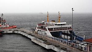 Çanakkale'de tüm feribot seferleri iptal!