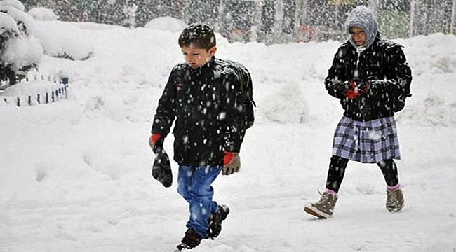 Çanakkale'nin iki ilçesinde kar tatili uzadı!