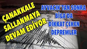 Çanakkale sallanmaya devam ediyor! 100'den fazla deprem oldu