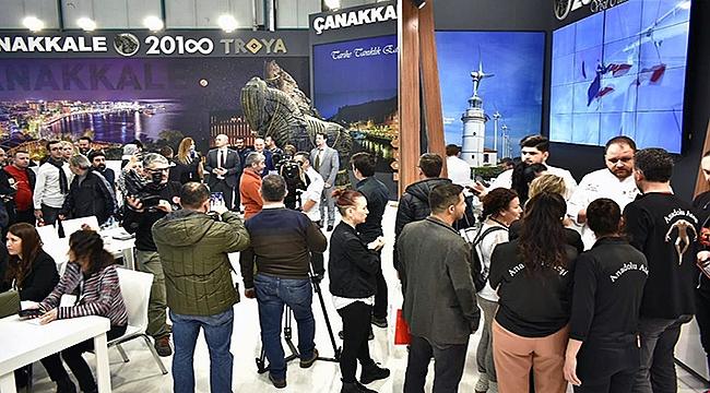 İstanbul EMITT Fuarında Çanakkale Büyük İlgi Gördü