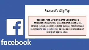 Facebook'a erişim sorunu!