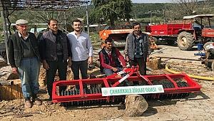 Köylülerin ortak kullanması için muhtarlıklara tarım aleti