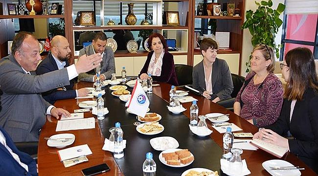 ABD İstanbul Başkonsolosluğu Yetkilileri ÇTSO'da