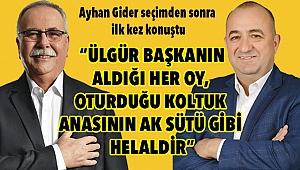 Ayhan Gider'den seçim değerlendirmesi