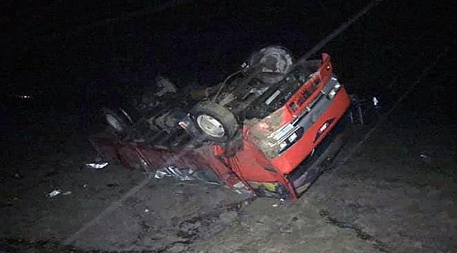 Çanakkale'de feci kaza ucuz atlatıldı!
